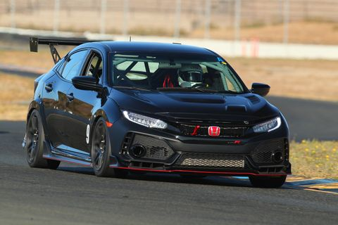 See the Honda Civic Type R TC car in action.