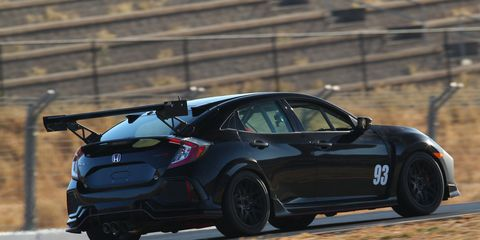 See theHonda Civic Type R TC car in action.