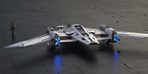 Porsche and Lucasfilmtook two months to develop this design.
