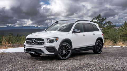 The GLB 250 the latest addition to Mercedes' SUV lineup.