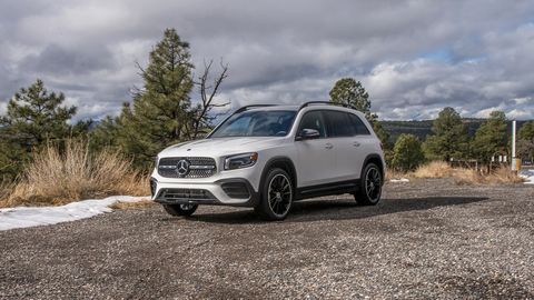 The model will be available with 4Matic AWD as a $2,000 option.