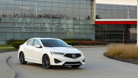 The 2019 Acura ILX gets a new face and rear for the new year. Acura's suite of driver assistance features, Acurawatch, also comes standard.