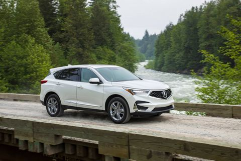 The 2019 Acura RDX comes exclusively with a turbo 2.0-liter four making 272 hp and 280 lb-ft of torque.