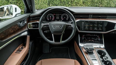 The 2019 Audi A6 with the Prestige Package feels like a fully realized luxury car.