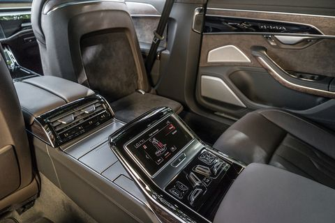Inside the 2019 Audi A8 luxury sedan