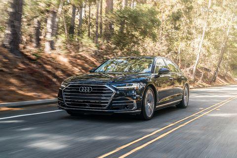 The redesigned 2019 Audi A8 luxury sedan