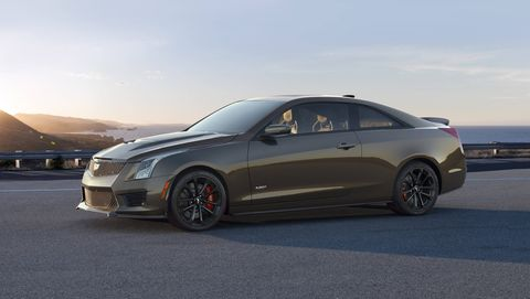 The Cadillac ATS-V Pedestal Edition is part of Cadillac's V-Series celebration. Only 300 Pedestal Edition Cadillacs will roll off assembly lines.