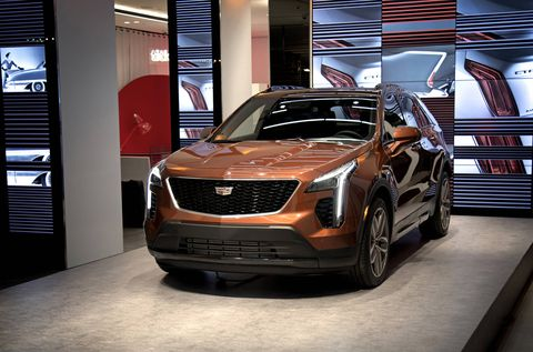 The 2019 Cadillac XT4 debuted at the New York International Auto Show with a 2.0-liter turbo-four developing 237 hp and 258 lb-ft of torque.