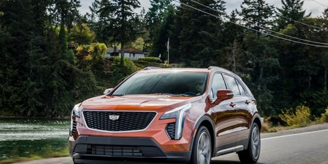 Cadillac goes downsize with the launch of the all-new compact XT4 SUV, the division's first compact SUV. It's powered by an all-new 237-hp 2.0-liter turbocharged four-cylinder mated to a nine-speed automatic driving your choice of the front, or all four wheels. Pricing starts at $35,790.