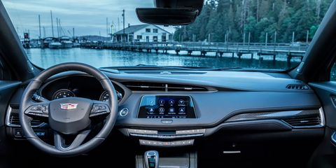 The 2019 Cadillac XT4 can be optioned with heated front AND rear seats, as well as a heated steering wheel for cold weather states.