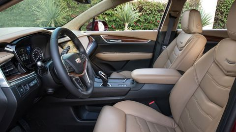 The 2019 Cadillac XT5 is well put together no matter the trim; the Platinum model adds an 8-inch gauge cluster, heated rear seats, a head-up display and more.