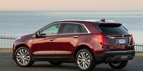The 2019 Cadillac XT5 is only offered with a 3.6-liter V6 making 310 hp. All-wheel drive is optional.