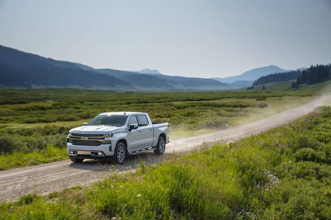 The 2019 Chevrolet Silverado High Country is the highest trim level available in the lineup.