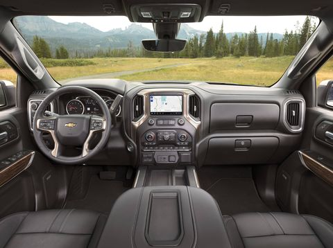 The 2019 Chevrolet Silverado High Country is the highest trim level available in the line-up