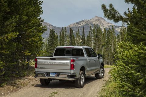 The 2019 Chevrolet Silverado LT is the trim that Chevrolet thinks you'll see more than any other. It's the mainstream choice.
