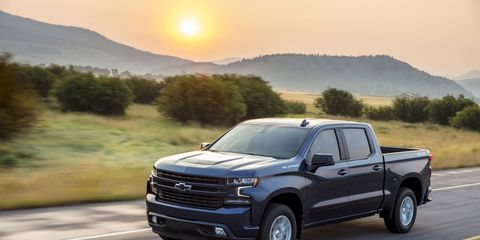 """The 2019 Chevrolet Silverado RST is the """"street performance"""" version of the truck"""
