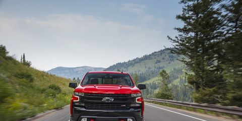 The 2019 Chevrolet Silverado Trail Boss, has a lift kit, special shocks and tires to make it properly off-road worthy.