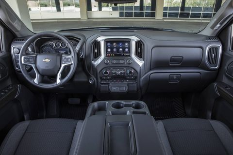 The 2019 Chevrolet Silverado comes with more interior technology than any Chevy pickup that came before it.