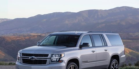 The Chevrolet Suburban RST package adds sporty touches to this popular full-size SUV