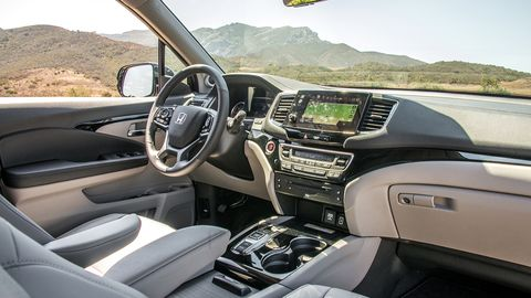 When it comes to the interior, the 2019 update is mostly about safety tech and a redesigned instrument cluster.