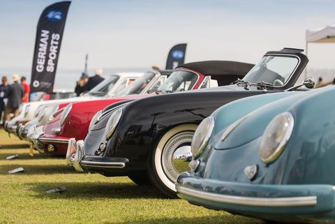 Last Sunday was the 15th running of the La Jolla Concours d'Elegance, a splendid show perched high atop the ocean cliffs of that seaside town. This year saw 125 cars in 24 classes, with Cadillac the featured marque.