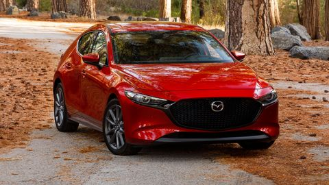 The 2019 Mazda 3 hatchback is the best looking of the bunch.