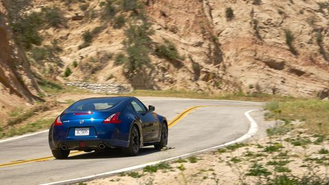 The 2019 Nissan 370Z comes with a 332-hp V6 and either a six-speed manual or seven-speed automatic with paddle shifters.