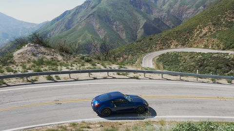 The 2018 Nissan 370Z comes with a 332-hp V6 and either a six-speed manual or seven-speed automatic with paddle shifters.