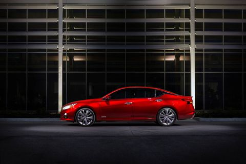 The 2019 Nissan Altima is offered with the company's new 2.0-liter VC-Turbo engine making 248 hp and 280 lb-ft of torque.