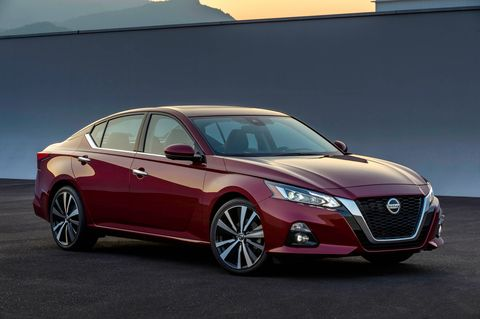 The next-generation Altima looks strikingly similar to Nissan's recent concepts.