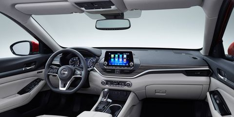 The next-generation Nissan Altima debuted at the New York auto show.