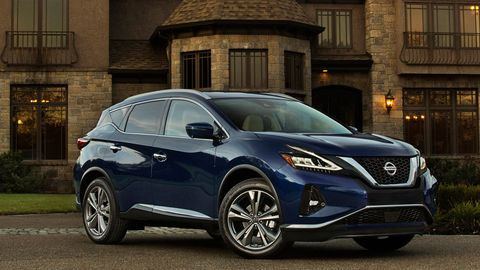 The 2019 Nissan Murano only comes with a 3.5-liter V6 making 260 hp.