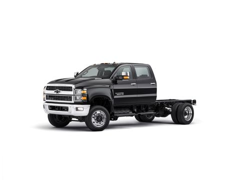 Chevrolet revealed its first-ever Silverado Class 4, 5 and 6 chassis cab trucks today at NTEA The Work Truck Show.