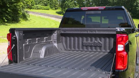 Chevrolet's new Durabed claims to be the largest pickup bed in its class.