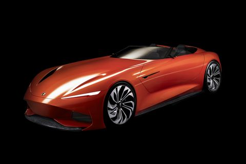 The Karma SC1 Vision Concept was revealed in Shanghai.