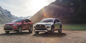 The Toyota RAV4 debuts at the New York auto show.