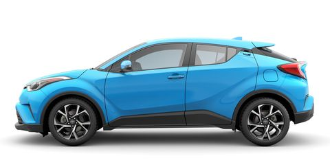 The 2019 Toyota C-HR gets a four-cylinder engine making 144 hp.