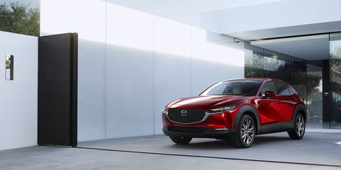 The Mazda CX-30 splits the size difference between the company's CX-3 and CX-5 crossovers.