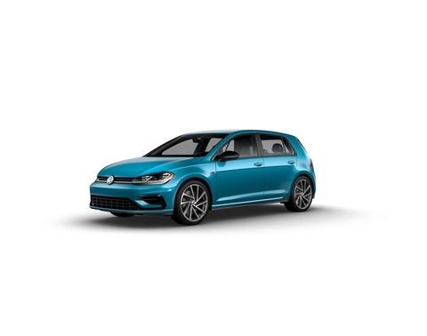The 2019 Volkswagen Golf R will be offered in 40 colors, in addition to the usual five.