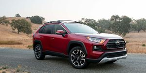 The 2019 Toyota Rav4 comes with a 2.5-liter making 203 hp.