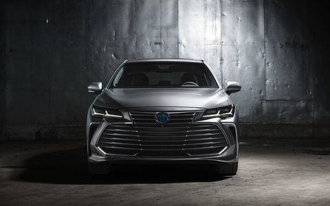 In Limited trim, the Avalon can be paired with the 2.5-liter hybrid powertrain.