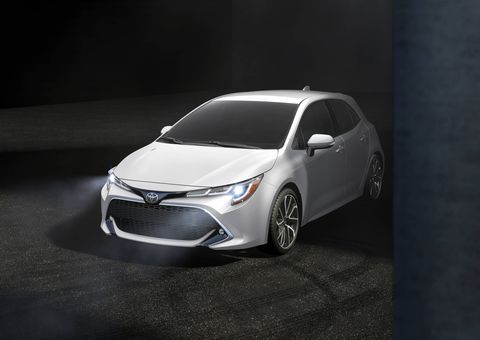 The 2019 Toyota Corolla Hatchback comes with the company's new Dynamic Force engine, a six-speed manual and an optional new CVT.