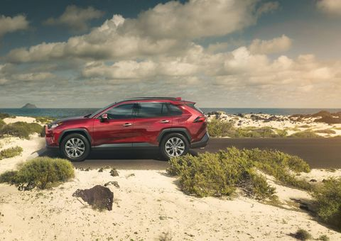The 2019 Toyota RAV4 debuted at the New York International Auto Show this week.