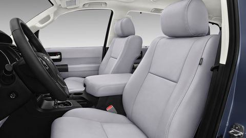 The 2019 Toyota Sequoia is offered in just four trims: SR5, TRD Sport, Limited and Platinum.