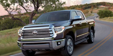 This 2019 Toyota Tundra comes with a 381-hp, 401 lb-ft 5.7-liter V8.