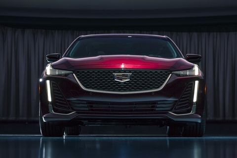 The 2020 Cadillac CT5 will debut at the 2019 New York Auto Show