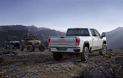 The GMC Sierra Heavy Duty truck family is new for 2020.