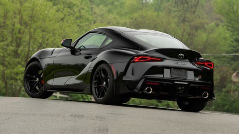 The 2020 Toyota GR Supra goes on sale in July.