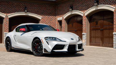The 2020 Toyota GT Supra comes exclusively with an eight-speed automatic transmission.