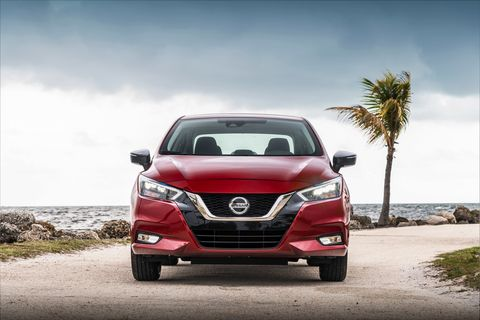 The 2020 Nissan Versa made its debut ahead of the New York auto show at a music festival in Florida.